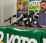 Lega: sabato e domenica mobilitazione popolare #votosubito!