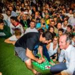 """Tutto esaurito e Salvini show alla Bèrghem Fest di Alzano: """"Le prefetture ormai sono agenzie turistiche per clandestini"""""""